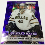 Panini America 2013-14 Prizm Hockey Purple Cracked Ice (12)