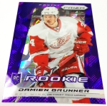 Panini America 2013-14 Prizm Hockey Purple Cracked Ice (14)