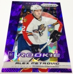 Panini America 2013-14 Prizm Hockey Purple Cracked Ice (16)