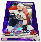 Panini America 2013-14 Prizm Hockey Purple Cracked Ice (18)