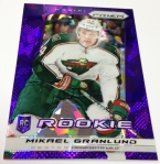 Panini America 2013-14 Prizm Hockey Purple Cracked Ice (22)