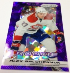 Panini America 2013-14 Prizm Hockey Purple Cracked Ice (23)