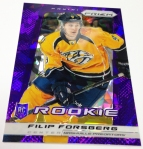 Panini America 2013-14 Prizm Hockey Purple Cracked Ice (24)