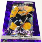 Panini America 2013-14 Prizm Hockey Purple Cracked Ice (25)