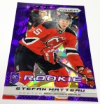 Panini America 2013-14 Prizm Hockey Purple Cracked Ice (27)