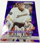 Panini America 2013-14 Prizm Hockey Purple Cracked Ice (3)