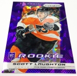 Panini America 2013-14 Prizm Hockey Purple Cracked Ice (30)