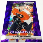 Panini America 2013-14 Prizm Hockey Purple Cracked Ice (31)