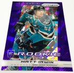 Panini America 2013-14 Prizm Hockey Purple Cracked Ice (34)