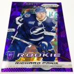 Panini America 2013-14 Prizm Hockey Purple Cracked Ice (35)