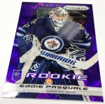 Panini America 2013-14 Prizm Hockey Purple Cracked Ice (38)