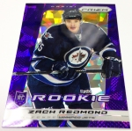 Panini America 2013-14 Prizm Hockey Purple Cracked Ice (39)