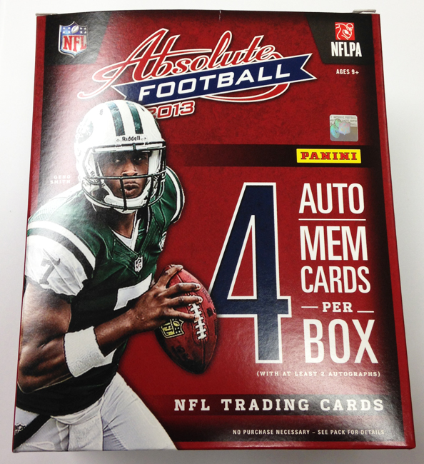 Panini America 2013 Absolute Football QC (1)