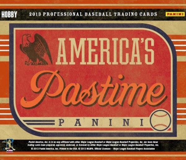 Panini America 2013 America's Pastime Baseball Main