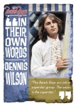 Panini America 2013 Beach Boys Dennis Wilson In Their Words
