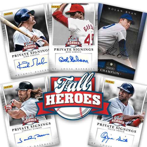 Panini America 2013 Fall Heroes Baseball Main