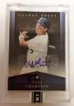 Panini America 2013 Fall Heroes George Brett Diamond