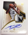 Panini America Immaculate Arrivals Two 14