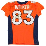 Panini Authentic Wes Welker 3