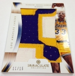 Panini America 2012-13 Immaculate Basketball Weekend Peek Part Three (37)