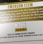 Panini America 2013-14 Select Hockey QC (93)