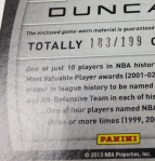 Panini America 2013-14 Totally Certified Teaser (53)