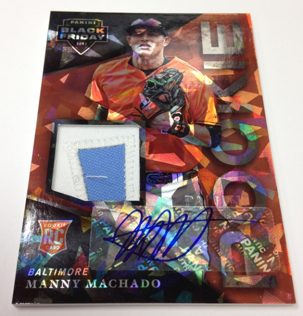 Panini America 2013 Black Friday Additional Autos (1)