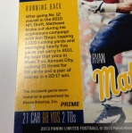 Panini America 2013 Limited Football Teaser (30)