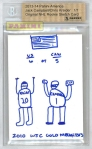 Panini America 2013 Player Sketch Cards (45)