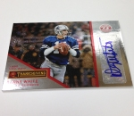 Panini America 2013 Totally Certified Football Thanksgiving (69)