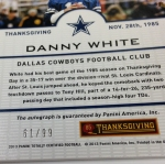 Panini America 2013 Totally Certified Football Thanksgiving (70)