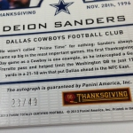 Panini America 2013 Totally Certified Football Thanksgiving (73)