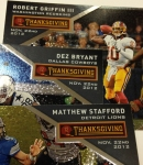 Panini America 2013 Totally Certified Football Thanksgiving (77)