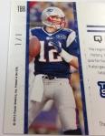Panini America Tom Brady Signs! (24)
