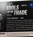 Panini America Tom Brady Signs! (36)