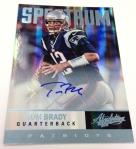 Panini America Tom Brady Signs! (37)