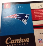Panini America Tom Brady Signs! (43)