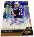 Panini America Tom Brady Signs! (44)