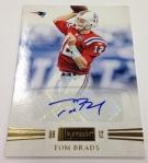 Panini America Tom Brady Signs! (7)