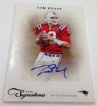 Panini America Tom Brady Signs! (8)