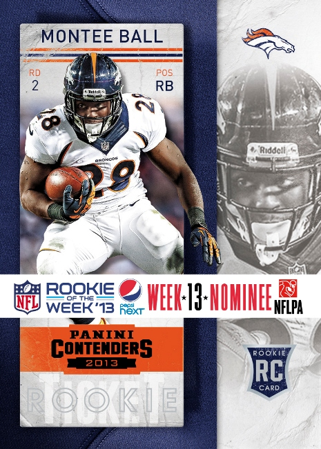 2013 Pepsi NEXT NFL Rookie of the Week 13 Nom 2
