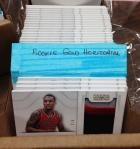 Panini America 2012-13 Damian Lillard Wrapper Redemption RCs (7)