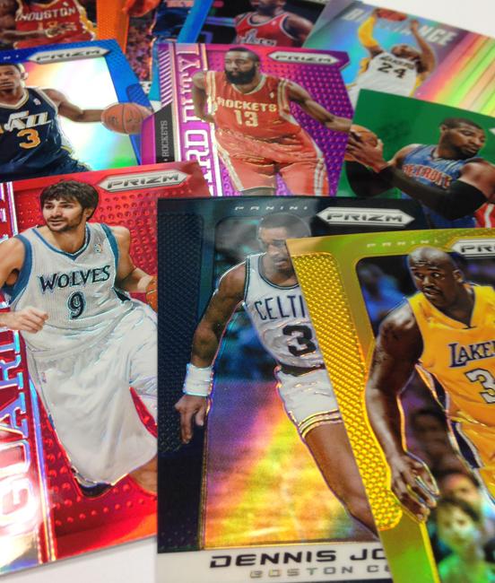 Panini America 2013-14 Prizm Basketball Rainbow (3)