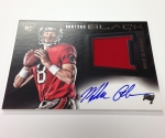 Panini America 2013 Black Football First Autos (13)