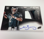 Panini America 2013 Black Football First Autos (18)