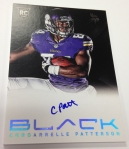 Panini America 2013 Black Football First Autos (2)