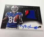 Panini America 2013 Black Football First Autos (24)