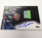 Panini America 2013 Black Football First Autos (9)