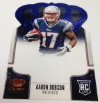 Panini America 2013 Crown Royale Football Pre-Ink Peek (18)