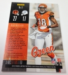 Panini America 2013 Limited Football Game Day Materials (6)